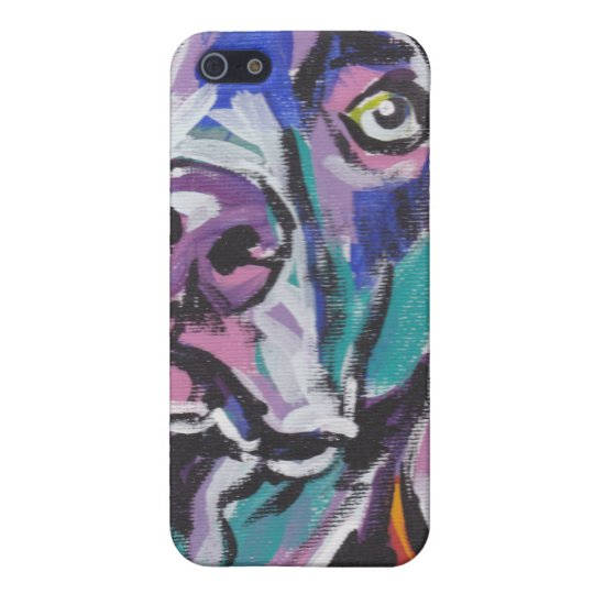 Weimaraner pop art iPhone Case iPhone 5 Covers