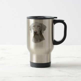 Weimaraner Portrait of A Dog Travel Mug