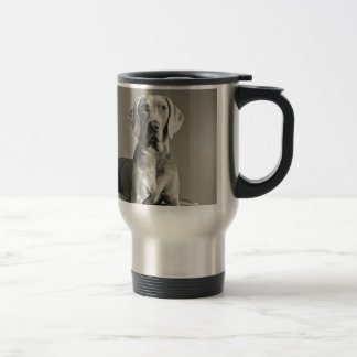 Weimaraner Portrait Travel Mug