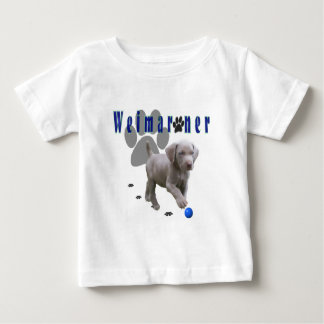 Weimaraner Pups Baby T-Shirt