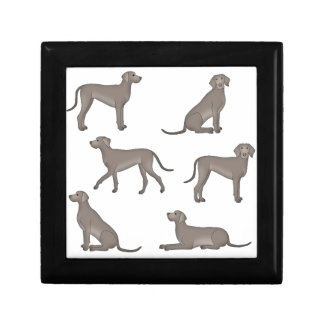 Weimaraner selection gift box