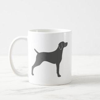 Weimaraner Silhouettes Coffee Mug