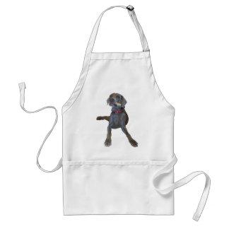 weimaraner standard apron