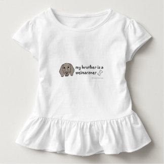 weimaraner toddler t-shirt