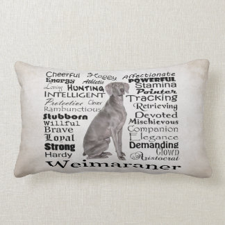 Weimaraner Traits Pillow