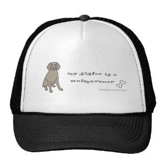 WeimaranerFullBodySister Trucker Hat