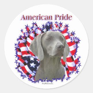 Weimeraner Pride Sticker