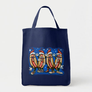 Weiner Christmas Tote Bag