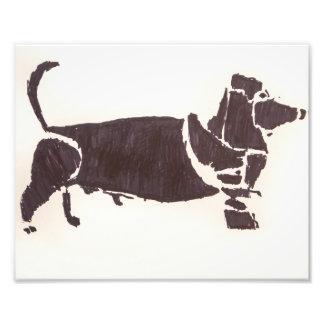 Weiner Dog 8x10 Print