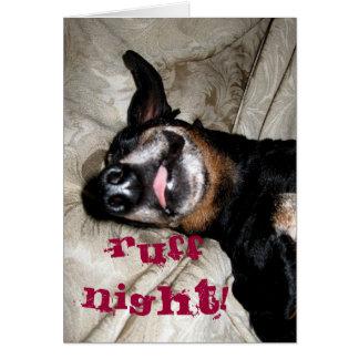 Weiner Dog Card