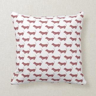 Weiner Dog Dachshund Throw Pillow