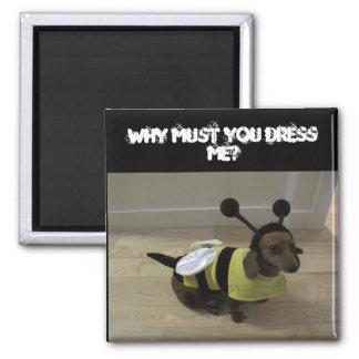 Weiner Dog Halloween Magnet