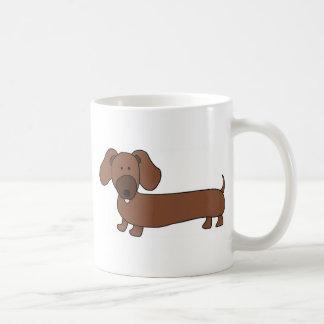 Weiner dog- Hot Dog Mugs