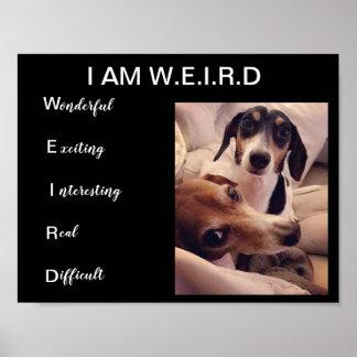 Weiner dogs poster