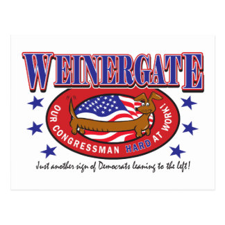 Weinergate - The Congressmans Weiner Postcard