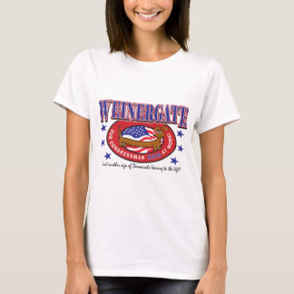 Weinergate - The Congressmans Weiner T-Shirt