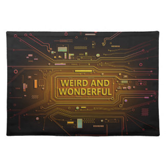 Weird and wonderful. placemat