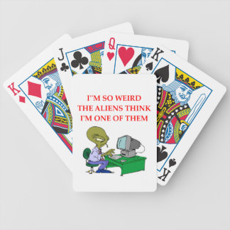 WEIRD BICYCLE PLAYING CARDS