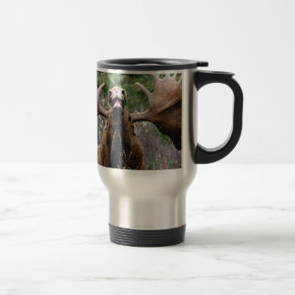 weird bull moose travel mug