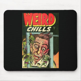 Weird Chills Comic book Mouse Pad