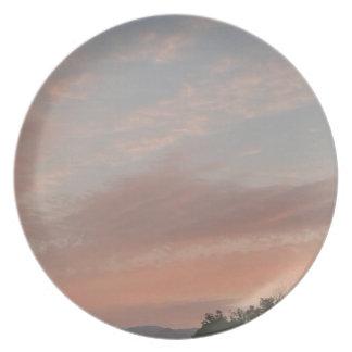 Weird Clouds 2 Plate