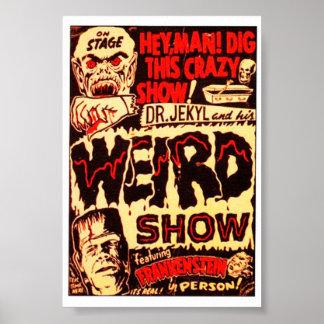 Weird Frankenstein Movie Poster