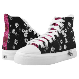 Weird Garden High Tops