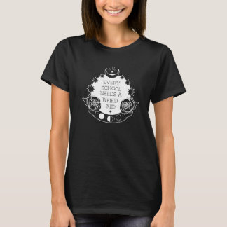 Weird Kid Cool Tattoo Style Slogan T-shirt