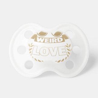 weird love pacifier