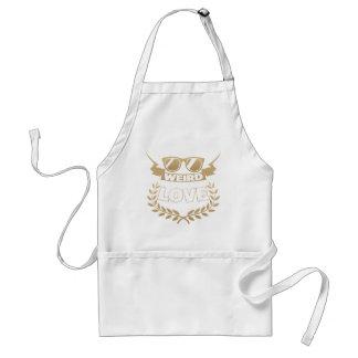 weird love standard apron