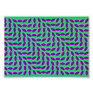 WEIRD OPTICAL ILLUSION looks like it's MOVING Poster