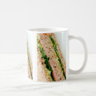 Weird Sandwich Print - Bread and Lettuce Coffee Mug