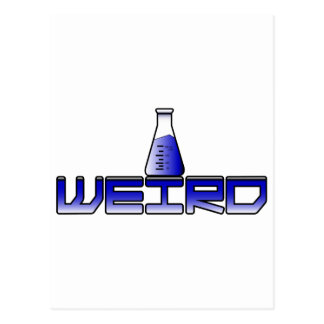 Weird Science Postcard