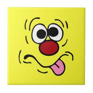 Weird Smiley Face Grumpey Tiles