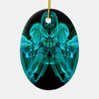 Weird Smoke (12).JPG Ceramic Ornament