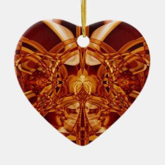 Weird Smoke (1).JPG Ceramic Heart Ornament