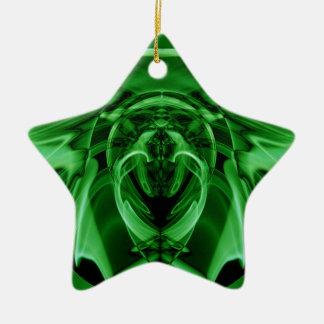 Weird Smoke (23).JPG Ceramic Star Ornament