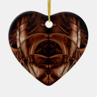 Weird Smoke (31).JPG Ceramic Heart Ornament