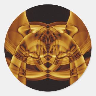 Weird Smoke (45).JPG Classic Round Sticker