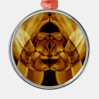 Weird Smoke (47).JPG Silver-Colored Round Ornament