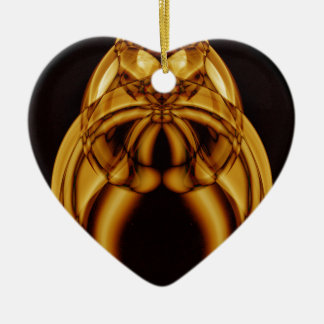 Weird Smoke (48).JPG Ceramic Heart Ornament