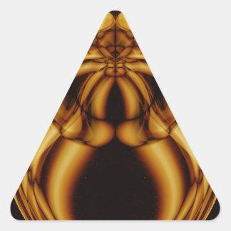 Weird Smoke (48).JPG Triangle Sticker