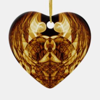 Weird Smoke (49).JPG Ceramic Heart Ornament