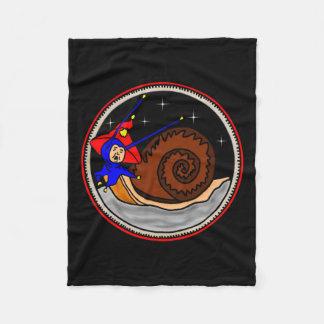 Weird Snail Fleece Blanket