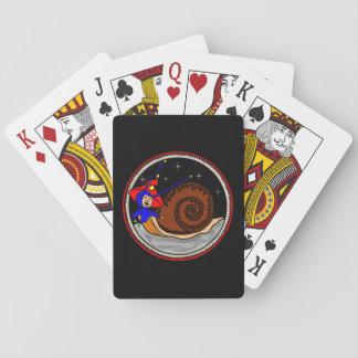 Weird Snail Playing Cards