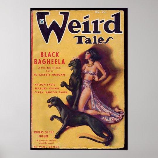 weird tales art poster