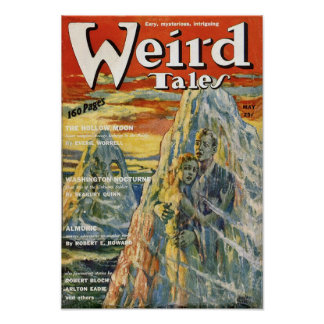 Weird Tales Comic Poster May1