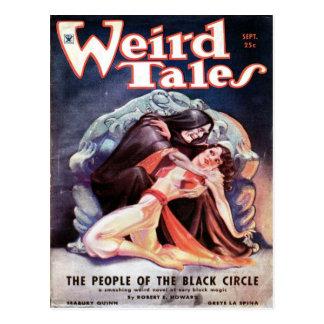 Weird Tales volume 24 number 03 September 1934 Postcard