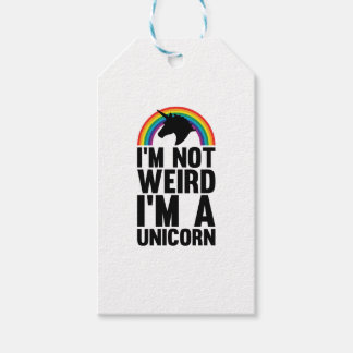 Weird Unicorn Gift Tags