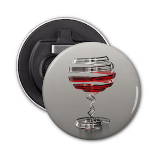Weird Wine Glass Bottle Opener